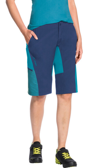 VAUDE Downieville Shorts Women sailor blue